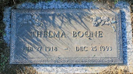 BOONE, THELMA - Prince George's County, Maryland | THELMA BOONE - Maryland Gravestone Photos