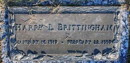BRITTINGHAM, HARRY L. - Prince George's County, Maryland | HARRY L. BRITTINGHAM - Maryland Gravestone Photos