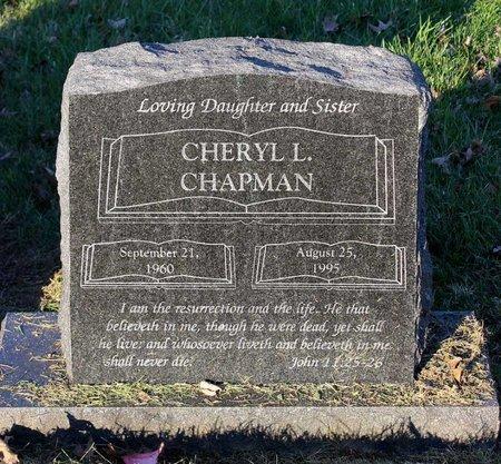 CHAPMAN, CHERYL L. - Prince George's County, Maryland | CHERYL L. CHAPMAN - Maryland Gravestone Photos