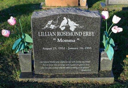 ERBY, LILLIAN ROSEMOND - Prince George's County, Maryland | LILLIAN ROSEMOND ERBY - Maryland Gravestone Photos
