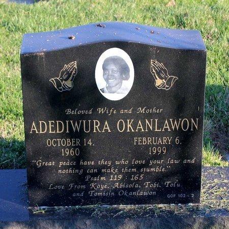 OKANLAWON, ADEDIWURA - Prince George's County, Maryland   ADEDIWURA OKANLAWON - Maryland Gravestone Photos