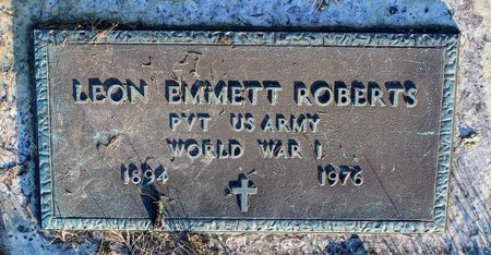 ROBERTS, LEON EMMETT - Prince George's County, Maryland | LEON EMMETT ROBERTS - Maryland Gravestone Photos