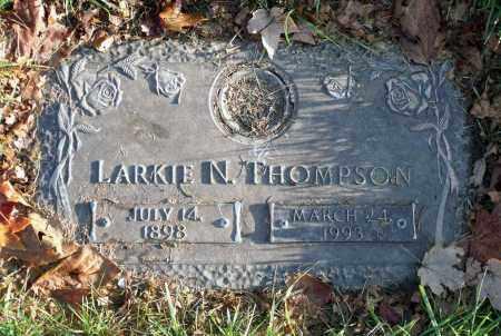 THOMPSON, LARKIE N. - Prince George's County, Maryland   LARKIE N. THOMPSON - Maryland Gravestone Photos