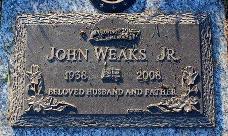 WEAKS, JOHN JR. - Prince George's County, Maryland   JOHN JR. WEAKS - Maryland Gravestone Photos