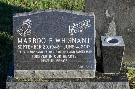 WHISNANT, MARBOO F. - Prince George's County, Maryland   MARBOO F. WHISNANT - Maryland Gravestone Photos