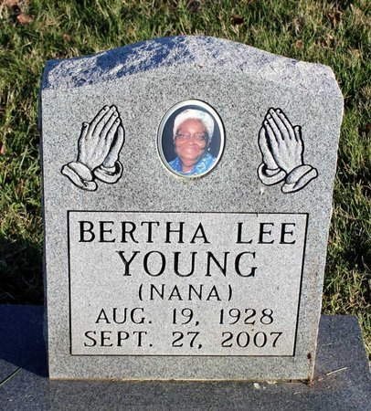 YOUNG, BERTHA LEE - Prince George's County, Maryland | BERTHA LEE YOUNG - Maryland Gravestone Photos